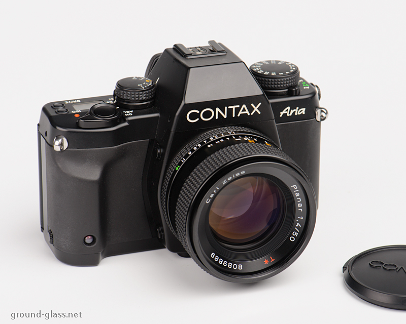 Contax Aria with Carl Zeiss Planar 50mm f/1.4 T*