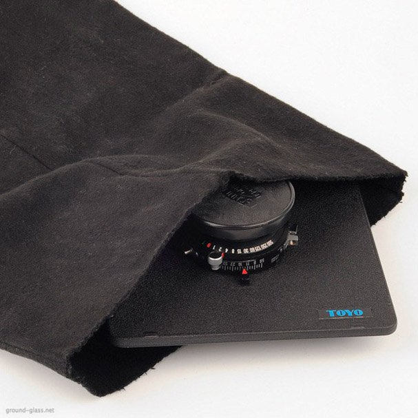 Lensbag for Large-format photography lenses