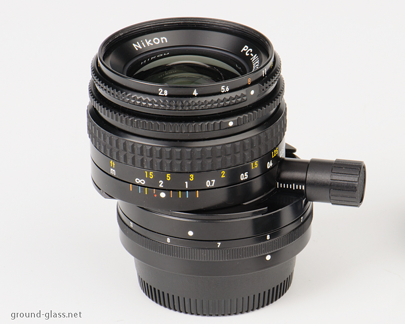 PC-Nikkor 35mm f/ 2.8 perspective control lens