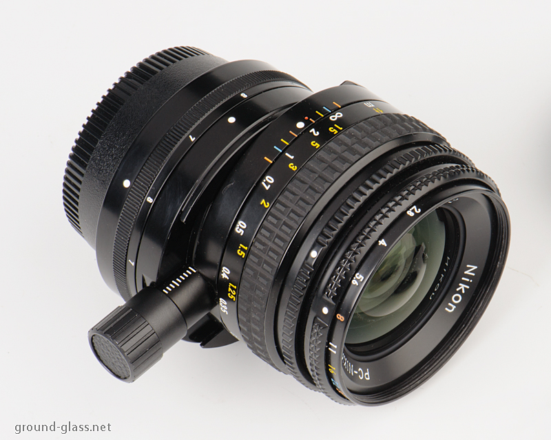 PC-Nikkor 35mm f/ 2.8 Ai-S perspective control lens