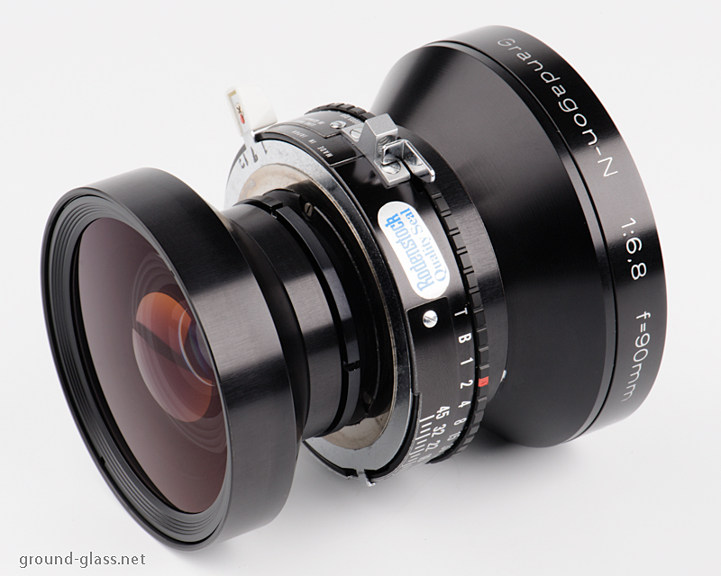 Rodenstock Grandagon N 90mm f/6.8 large format photography lens specifications