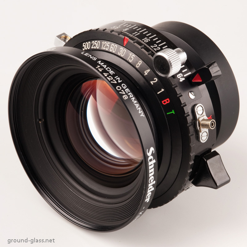 Schneider APO Symmar 150mm f/5.6 large format photography lens