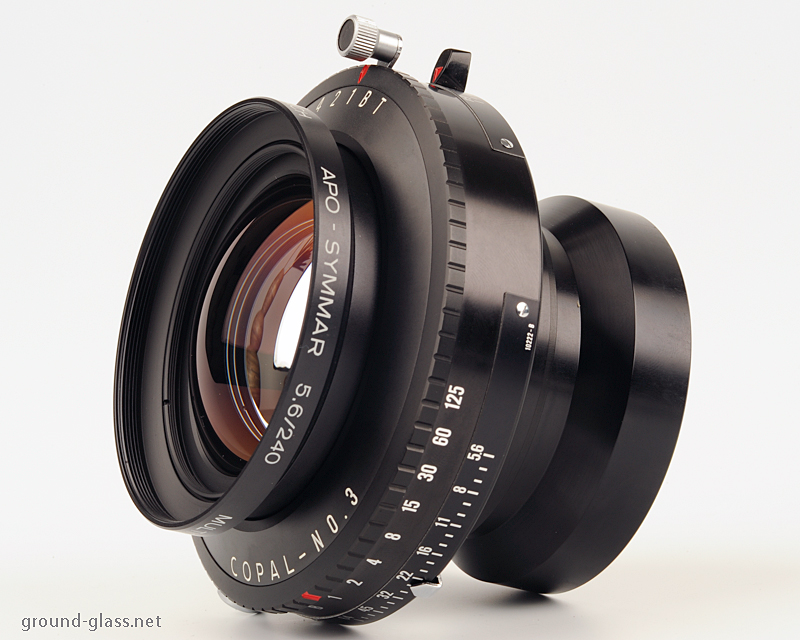 Schneider APO Symmar 240mm f/5.6 large format photography lens