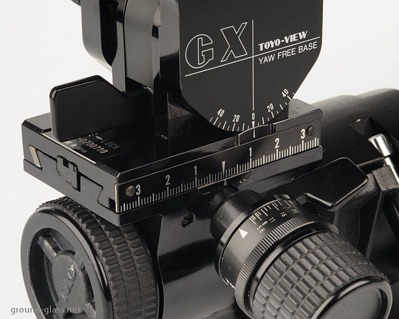 Toyo View 45 GX large format photography camera specifications